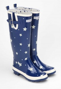 Keep your feet dry and look incredible with these cutting edge wellingtons