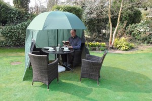 shelta-shade garden umbrella