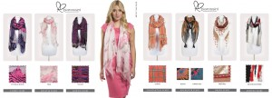 Ladies scarves by pia rossini