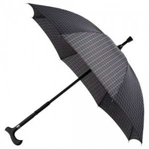 You can use it as an umbrella AND walking stick at the same time!
