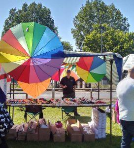 Durham Pride Stall