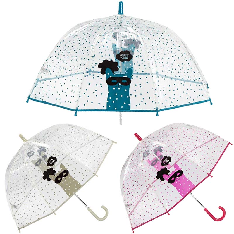 cat mask kids umbrella by ezpeleta