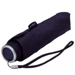 Cheap compact navy umbrella