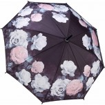 Antique Rose Full Length Ladies Umbrella