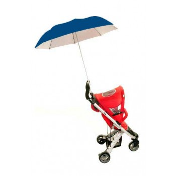 Height Adjustable Buggy Brolly - Dark Blue