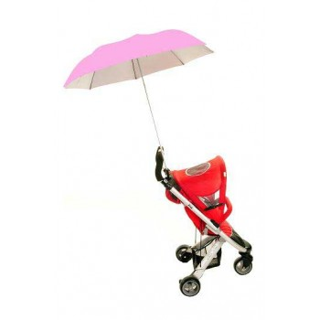 Buggy Brolly Pink