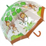 Children's PVC Umbrella - Monkey