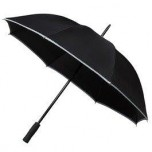 Adults Hi-Viz Umbrella - Black