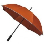 Adults Hi-Viz Umbrella -Orange