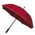 Adults Hi-Viz Umbrella - Red