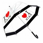 I Love Rain - Dome Umbrella