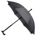 Walking Stick Umbrella - Checked