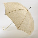 Fulton Isabella Buttermilk Cream Walking Umbrella
