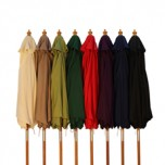 Parasol Wood Pulley 2.5m - choice of 9 colours