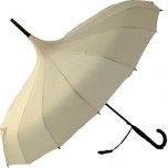 Oriental Pagoda Umbrella Cream