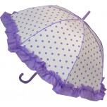 Polka Dot Umbrella - Lilac