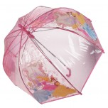 Children's Character Umbrella - Disney Princess Clear Dome