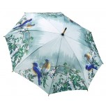 Hautmans Blue Birds Stick Umbrella