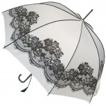 Vintage Wedding Umbrella - White
