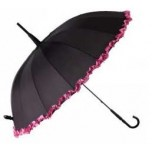 Burlesque Ruffle Umbrella - Isabelle