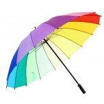 Bright Rainbow Umbrella
