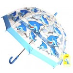 Children's PVC Umbrella - Shark