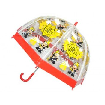 Childrens PVC Umbrella - Firemen