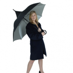 Classic Black UV Protective Umbrella