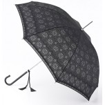 Fulton Umbrella - Eliza Devore Lace Black