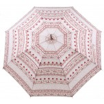 Emma Bridgewater - Love Heart Sampler - Walking Length Umbrella