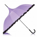 Burlesque Ruffle Umbrella - Evangeline