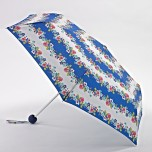 Fulton Super Slim Small Folding Umbrella - Nautical Floral