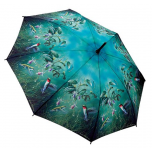 Hautmans Humming Birds Stick Umbrella