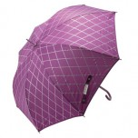 Lisbeth Dahl - Lilac Harlequin Design Umbrella