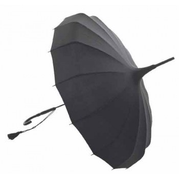 Lisbeth Dahl Pagoda Umbrella - Black
