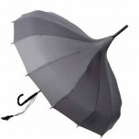 Lisbeth Dahl Pagoda Umbrella - Grey