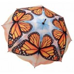 Art Collection - Monarch Butterfly Umbrella