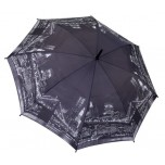 City Collection - New York - Black & White Full Length Umbrella