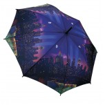 Art Collection - Full Length Umbrella - New York Night Lights
