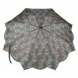 Art Collection - Peacock Umbrella
