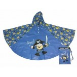Childrens Rain Poncho - Pirate