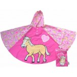 Children's Rain Poncho - Pony
