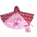 Childrens Rain Poncho - Princess