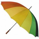 Idaho Rainbow Golf Style Umbrella
