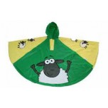 Childrens Rain Poncho - Sheep
