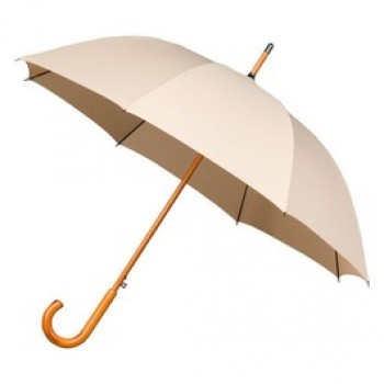 Warwick Beige Windproof Walking Umbrella