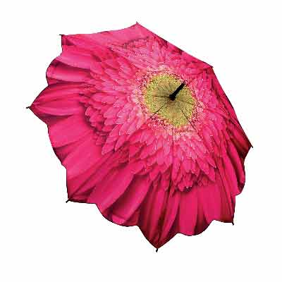 Flower design umbrellas collection. A great gift for ladies.