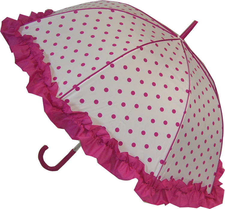 Coming Soon NEW Polka Dot Umbrella - Pink