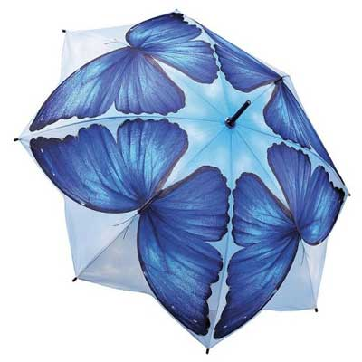 Blue Breeze - Full Length Umbrella