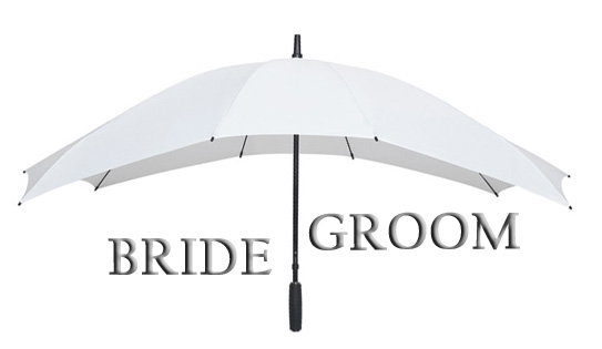 The 'Duo White' Double Umbrella